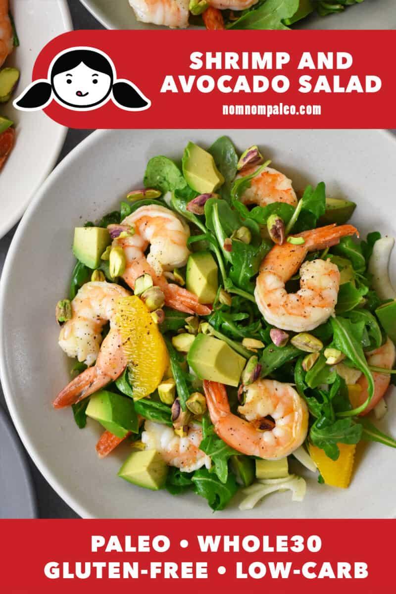 Shrimp and Avocado Salad (Whole30, Paleo, Low Carb)